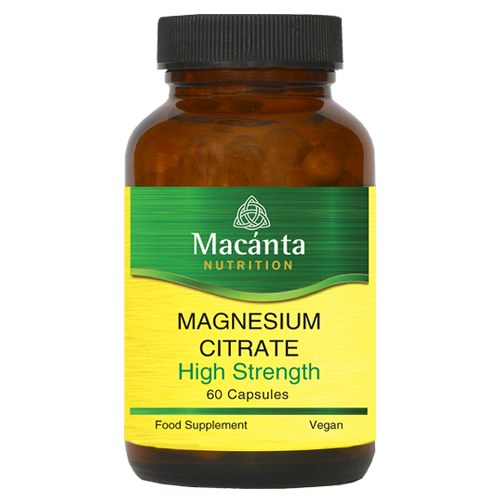 MAGNESIUM CITRATE 200MG 60CAPS