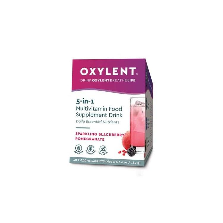 Oxylent Sparkling Blackber 30s