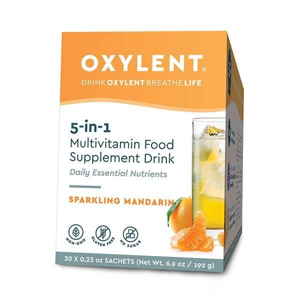 Oxylent Sparkling Mandarin 30s