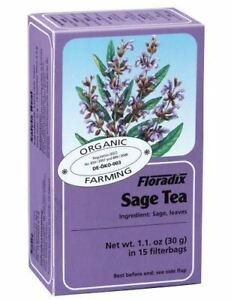 SAGE TEA (ORG) 15BAGS