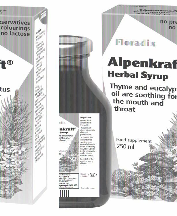 SH Alpencraft Syrup 250ml