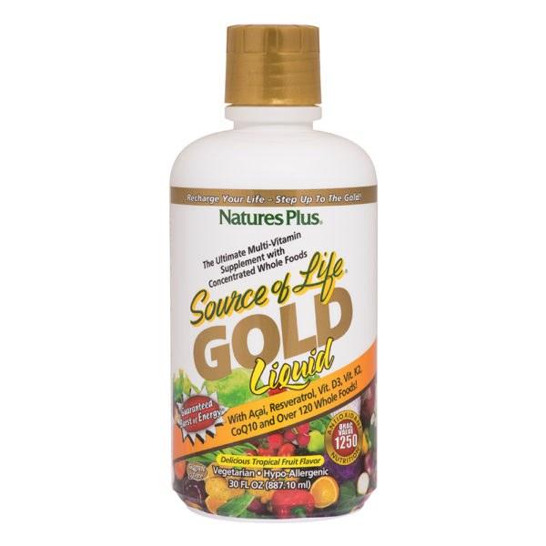 SOL LRG GOLD LIQUID 30
