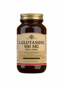 L-Glutamine 500 mg Vegetable C
