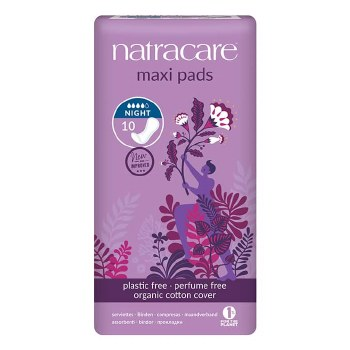 NATURAL PADS - NIGHT TIME 10PC