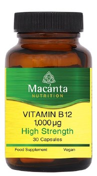 VITAMIN B12 1000MG 30CAPS