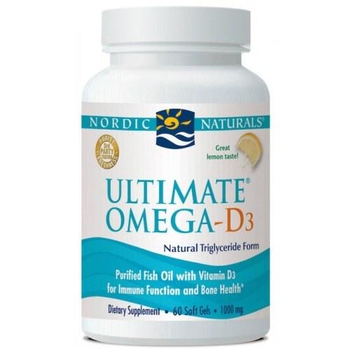 Ultimate Omega-D3 60 capsule