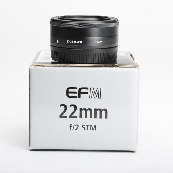 CANON EF M 22MM f2 STM