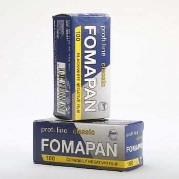 FOMAPAN 100 120mm