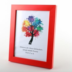 COLOURS 8X6 RED