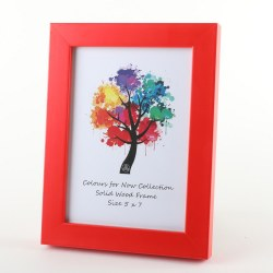 COLOURS RED 5X7