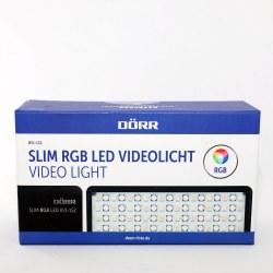 DORR SLIM RGB LED VIDEOLIGHT