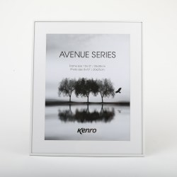KENRO AVE 10X8 WHITE FRAME
