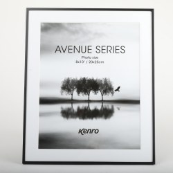 KENRO AVENUE 10X8 BLACK FRAME