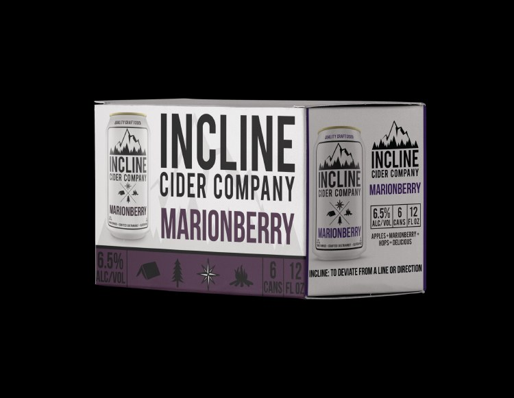 Incline Marionberry Cider