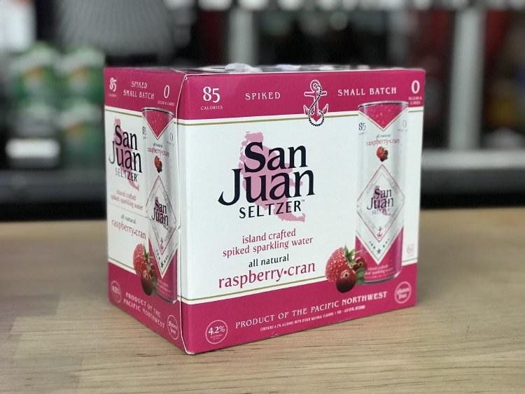 San Juan Seltzer Raspberry