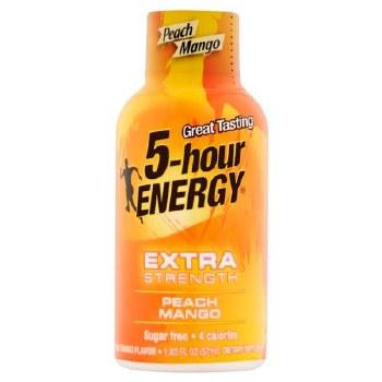 5 Hr Energy Peach Mango Extra