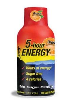 5 Hr Energy Orange Extra