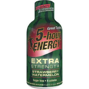 5 Hr Energy Straw Water Extra