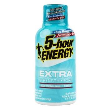 5hr Energy Blue Rasp Extra