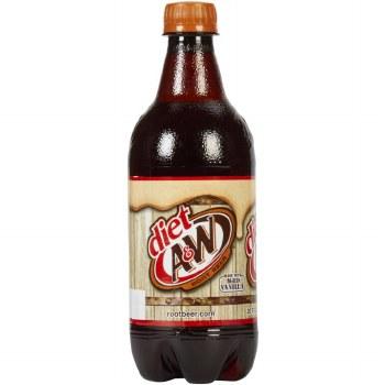 A & W Diet Root Beer