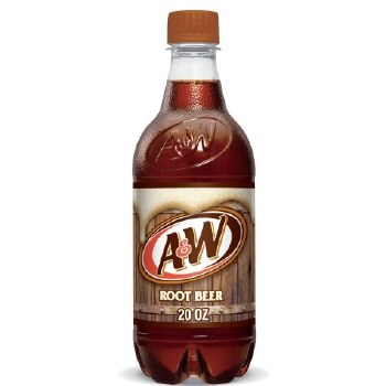 A & W Root Beer 20oz