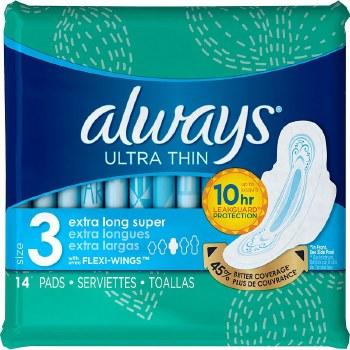 Always Ultra Thins