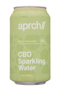 Aprch Cbd Mint+cucumber 12oz