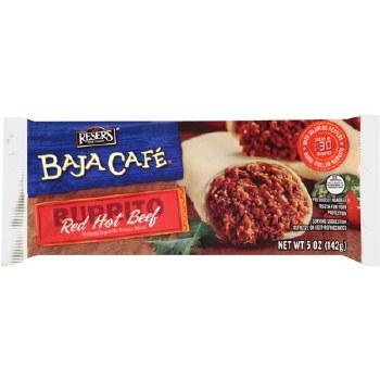 Baja Cafe Red Hot Burrito