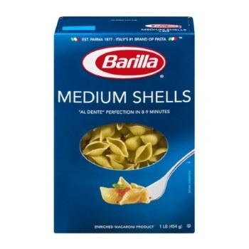 Barillla Medium Shells 1 Lb
