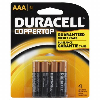 Batteries Aaa 4 Pack