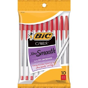 Bic Red Pens 10 Pack