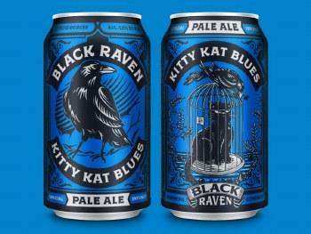 Black Raven Kitty Blues Pale