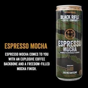 Blk Rifle Coffee Mocha 12oz