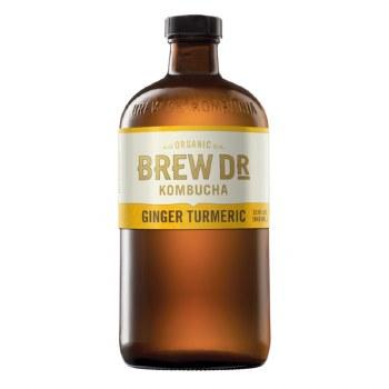 Brew Dr Kombocha Ginger 16oz
