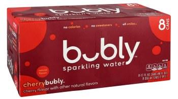 Bubly Cherry 8pk
