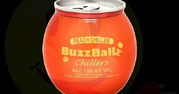 Buzzballz Chillers Peach