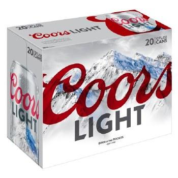 Coors Light 20 Pack