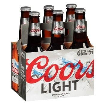 Coors Light 6pk B