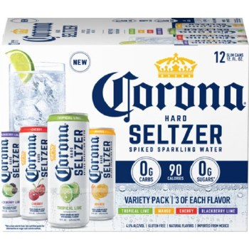 Corona Seltzer 12pk Variety #2