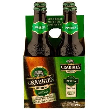 Crabbies Ginger 4pk