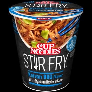 Cup Noodles Stir Fry Bbq