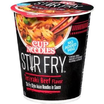 Cup Noodles Stir Fry Teriyaki