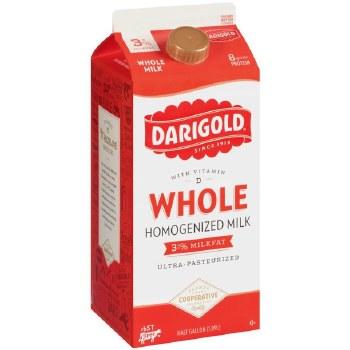 Darigold Whole Milk 1/2 Gallon