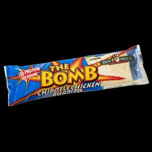 Dm Bomb Chicken Burrito
