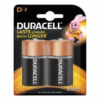 Duracell D2 2 Pack