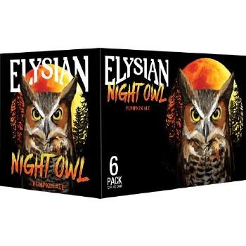 Elysian Night Owl Pumpkin Cans