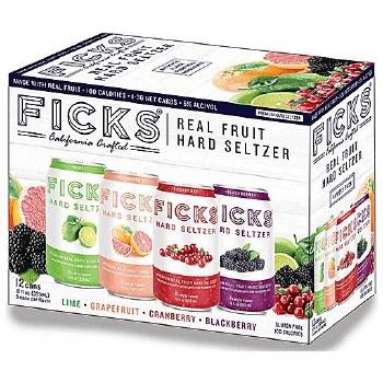 Fick Seltzer 12 Variety Pk