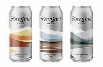 Foreland Beer Glass Volcano