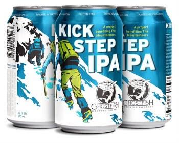 Ghostfish Kick Step Ipa 4pk