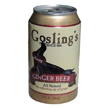 Gosling Ginger Beer Can